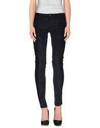 Guess Denim Denim Trousers Women Black