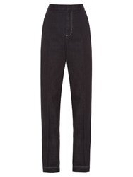 Stella Mccartney Elmere Organic Denim Trousers Dark Denim