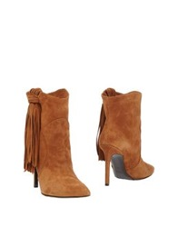 Roberto Festa Ankle Boots Brown