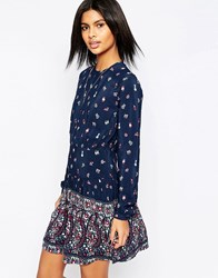 Pepe Jeans Peggie Ditsy Print Dress 0Aamulti