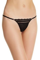 Free People More Than Words Thong Black