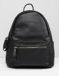 Liquorish Smooth Backpack Black