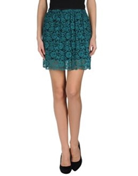 .. Merci Merci Knee Length Skirts Deep Jade