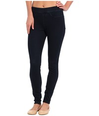 Hue Curvy Fit Jeans Leggings Midnight Rinse Women's Clothing Black