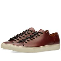 Buttero Tanino Low Leather Sneaker Brown