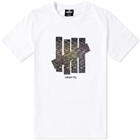 Undefeated Static Strike Tee White