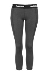 I' Low Rise Waistband 7 8 Leggings By Ivy Park Grey