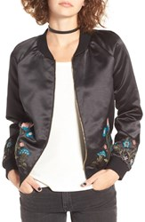 Fire Women's Embroidered Bomber