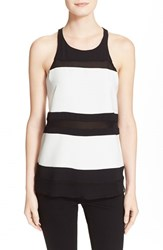 Women's Parker Sheer Stripe Shell