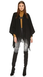 Generation Love Dion Poncho Black