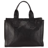 John Lewis Kin By Romy Leather Tote Bag Black