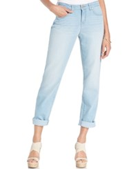 Styleandco. Style And Co. Petite Ex Boyfriend Curvy Fit Jeans Blossom Wash Only At Macy's