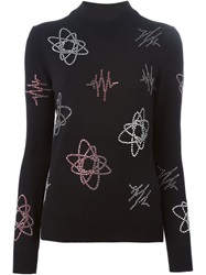 Each X Other Embellished Sweater Black