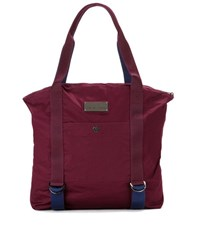Adidas By Stella Mccartney Yoga Cotton Gym Bag Red