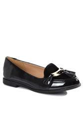 Alice And You Patent Loafers Black