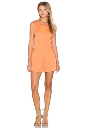 Finders Keepers The Prelude Romper Orange
