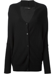 Avelon Oversized Cardigan Black