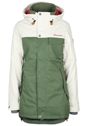 Chiemsee Karlyn Snowboard Jacket Bronze Green Dark Green