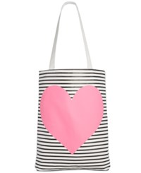 Ban.Do Ban. Do Neon Heart Canvas Tote Pink Heart
