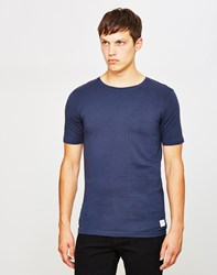 Only And Sons Mood Muscle O Neck T Shirt Blue