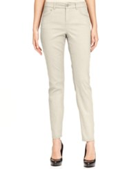 Styleandco. Style And Co. Curvy Fit Skinny Leg Colored Jeans Only At Macy's Vintage Pearl
