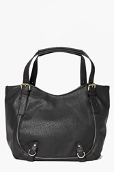 Boohoo Pocket Detail Slouch Day Bag Black
