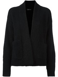 By Malene Birger Open Front Cardigan Black