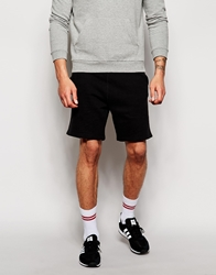 Pullandbear Jersey Shorts Black