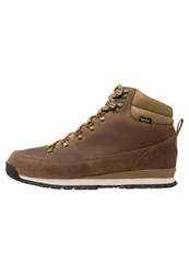 The North Face B2b Redux Winter Boots Dijon Brown Vintage White Mustard