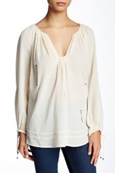 Twelfth St. By Cynthia Vincent Poet Blouse White
