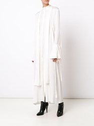 Ellery 'Pussy Bow' Dress White
