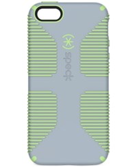 Speck Candyshell Grip Phone Case For Iphone 5 5S Se Nickel Grey Sweet Mint Green
