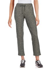 Context Mesh Accented Drawstring Pants Black White