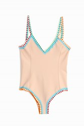 Kiini Luna Scoop Back One Piece Pink