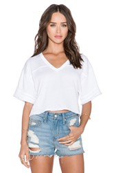 Obey Randall Cut Off Tee White