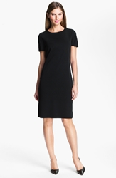 Ming Wang Short Sleeve Dress Black