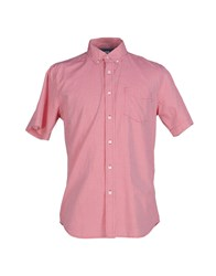 Obey Shirts Shirts Men Red
