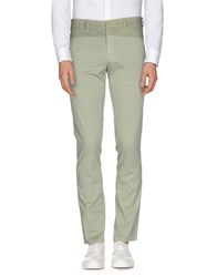 Versace Collection Trousers Casual Trousers Men Light Green