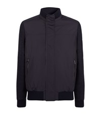 Paul And Shark Honeycomb Sleeve Jacket Male Navy