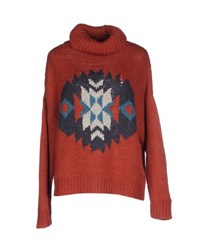 Pepe Jeans Knitwear Turtlenecks Women Rust