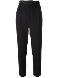 Avelon 'Diffuse' Cropped Trousers Black