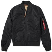 Alpha Industries Ma 1 Vf 59 Flight Jacket Black