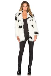Cheap Monday Faux Fur Curl Jacket White