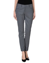 Pt0w Trousers Casual Trousers Women Dark Blue