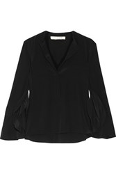 Alexis Ronja Washed Silk Blouse Black