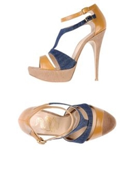 John Richmond Sandals Blue