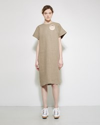 A Detacher Douro Linen Dress Beige