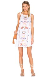 Wildfox Couture Road Runner Tank Dress White