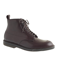 Alden For J.Crew Cordovan 405 Indy Boots Dark Burgundy