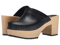 Swedish Hasbeens Louise Black Women's Clog Shoes